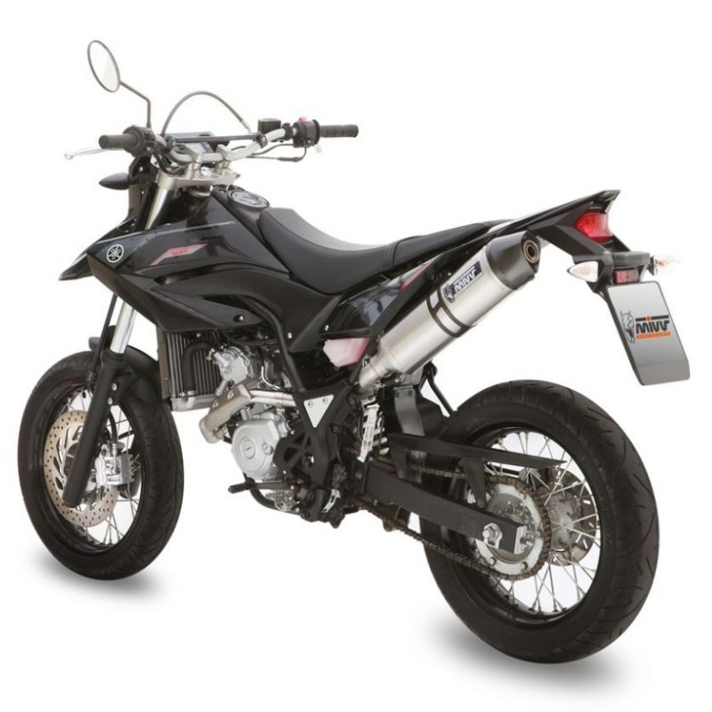 Silencieux MIVV Stronger finition inox pour Yamaha WR 125 R/X 2009>