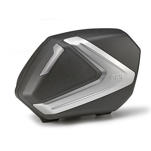 Valises latérales Givi V37 noir/gris(paire)