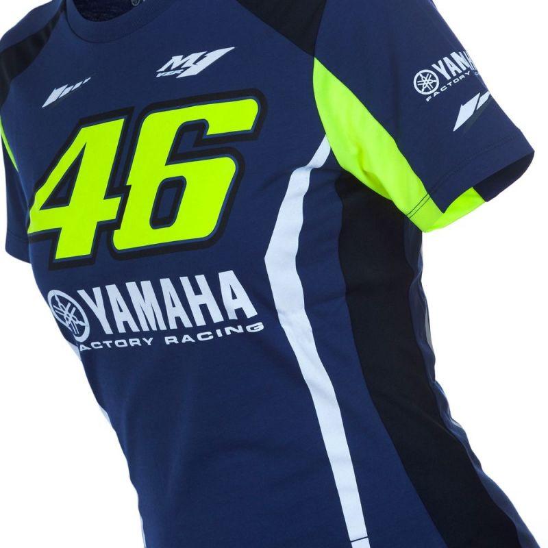 Tee shirt femme VR46 Valentino Rossi Yamaha
