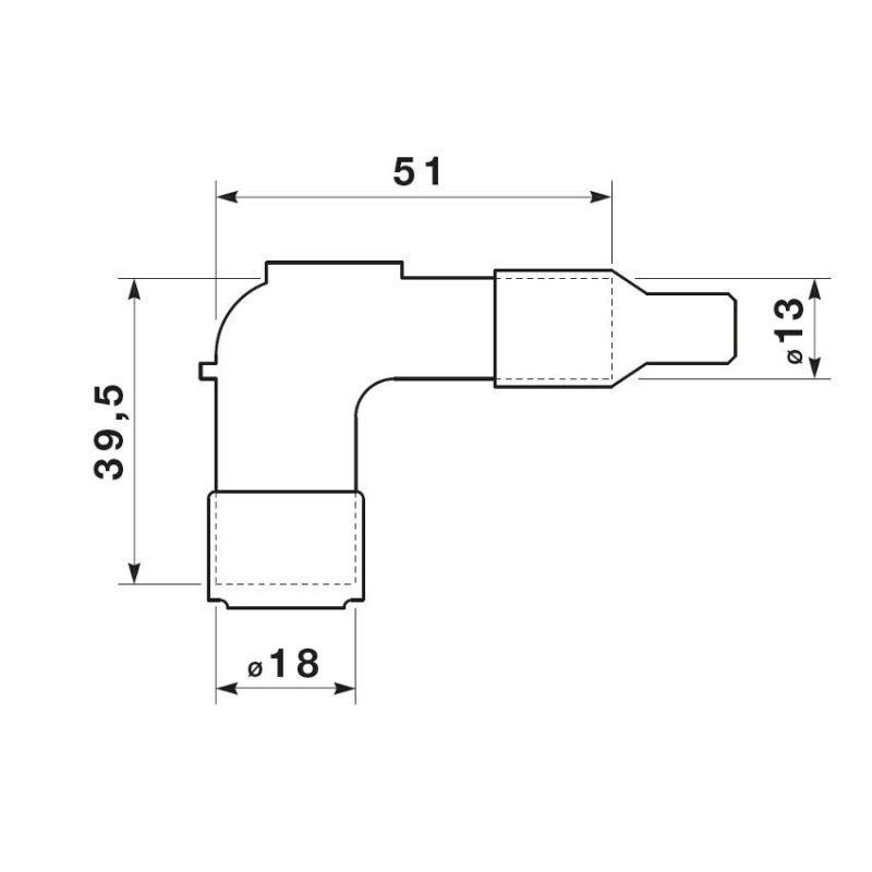 Antiparasite NGK LB05F - 1