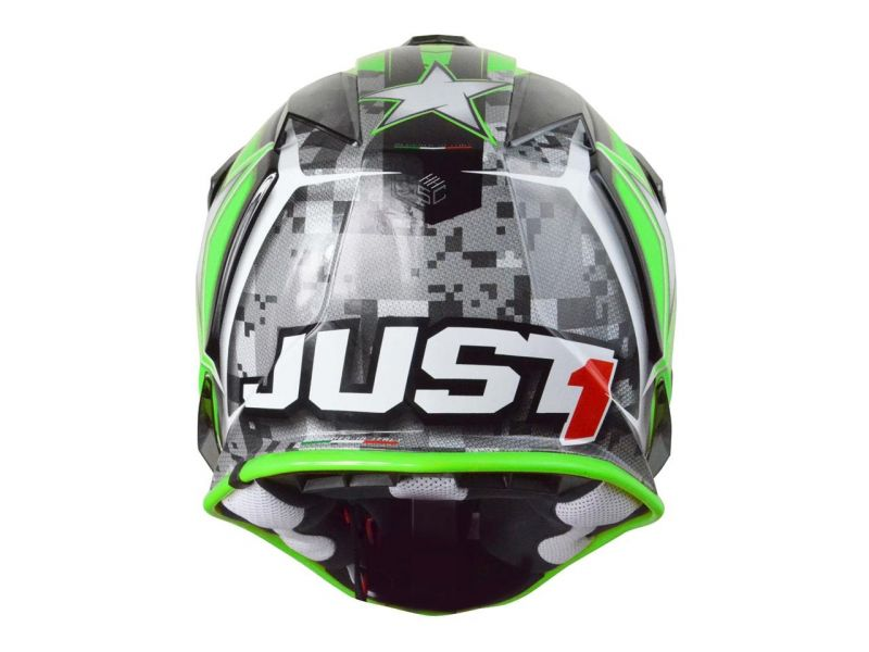 Casque cross Just1 J32 Moto X Vert - 2