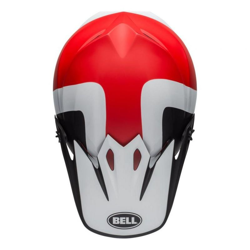 Casque cross Bell MX 9 Mips Presence noir/blanc/rouge - 7