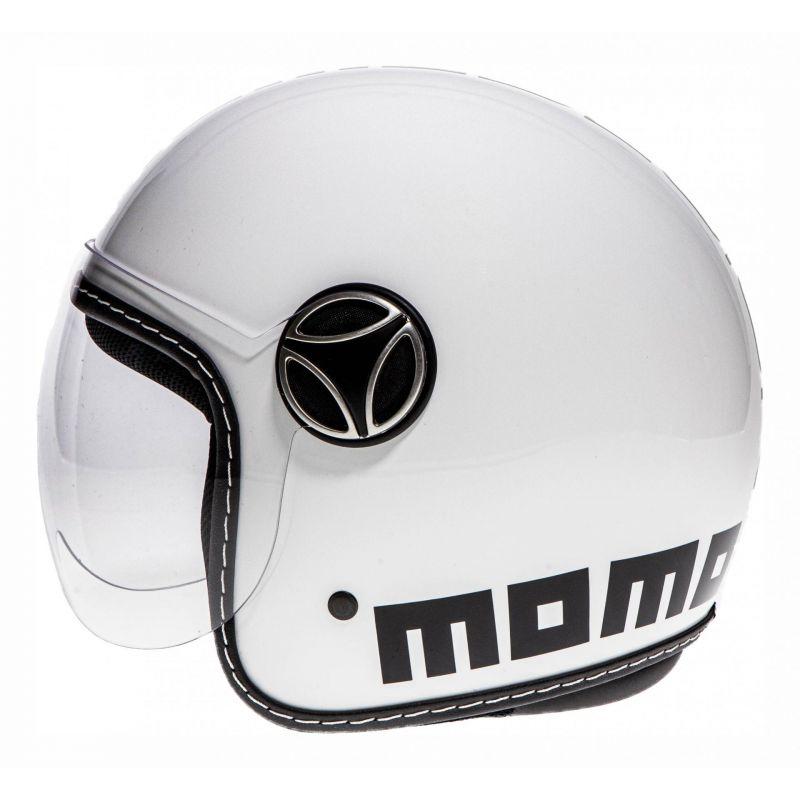 Casque jet enfant Momo Design FGTR Baby blanc - 1