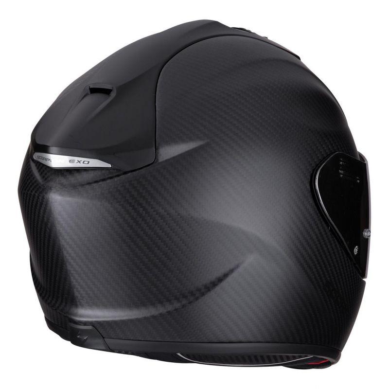 Casque intégral Scorpion Exo-1400 Air Carbon Solid Mat noir - 4