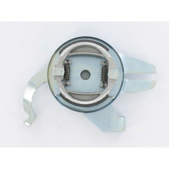 Flasque de frein arrière avec mâchoires MBK 51 diam 80 - 1