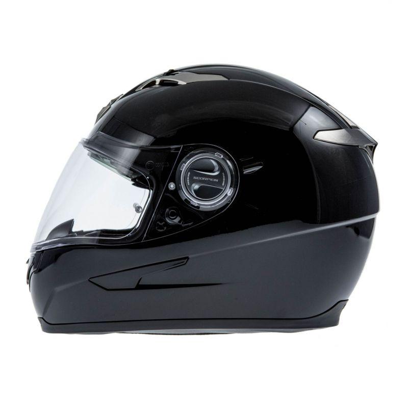 casque int gral scorpion exo 500 air noir casques moto sur la b canerie. Black Bedroom Furniture Sets. Home Design Ideas