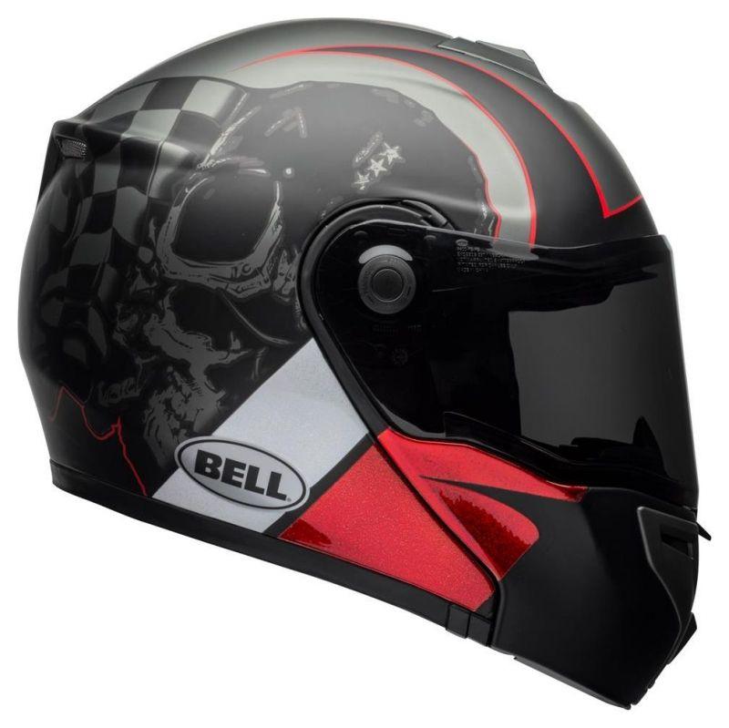 Casque intégral Bell SRT Modular Hart-Luck Skull - 2