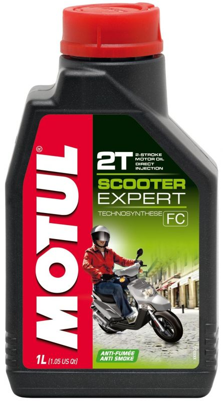 huile moteur 2t motul scooter expert 1l lubrifiant sur la b canerie. Black Bedroom Furniture Sets. Home Design Ideas