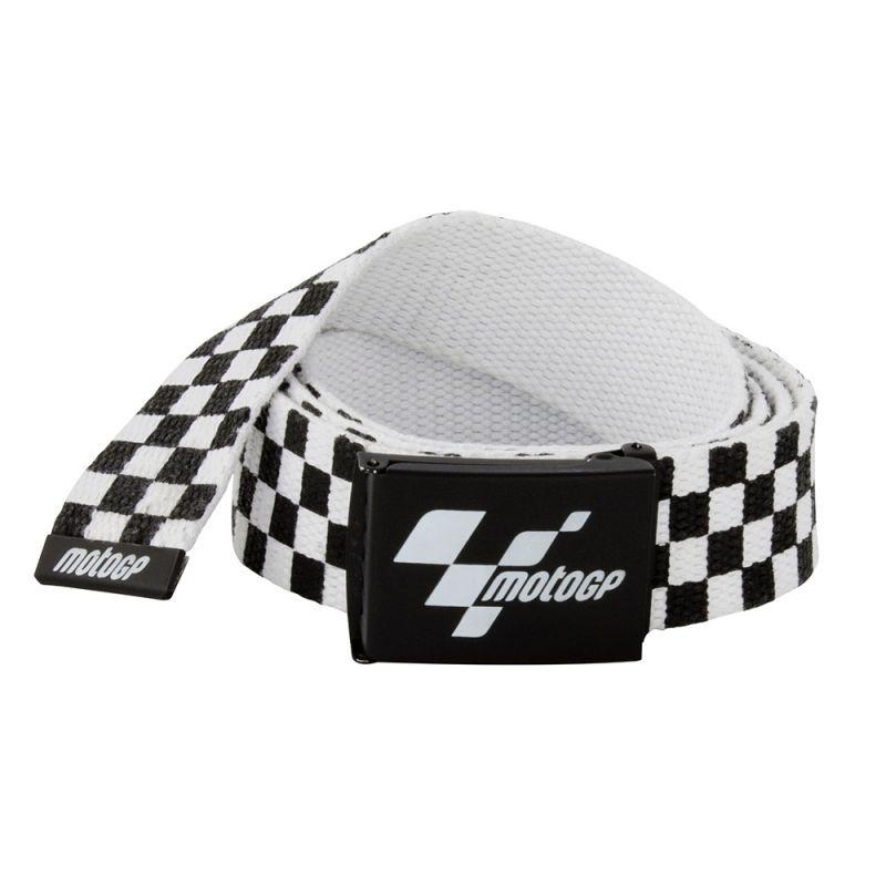 photos officielles 6c7d7 b994d Ceinture MotoGP à damier noir et blanc