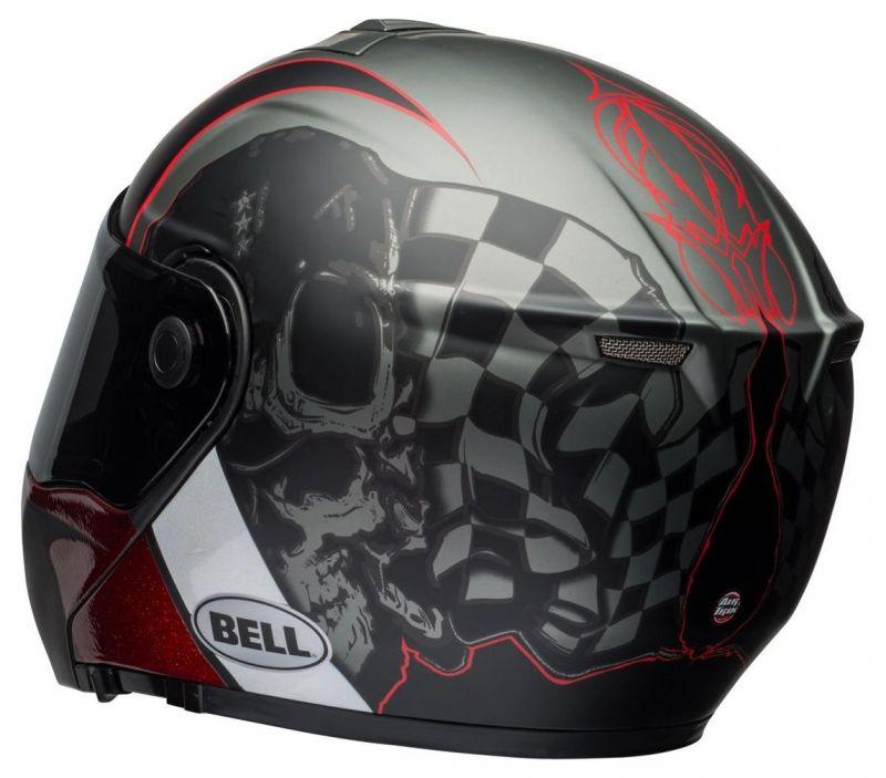 Casque intégral Bell SRT Modular Hart-Luck Skull - 3