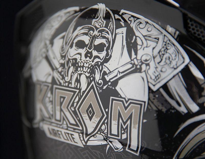 Casque intégral Icon Airflite Krom noir/gris - 3
