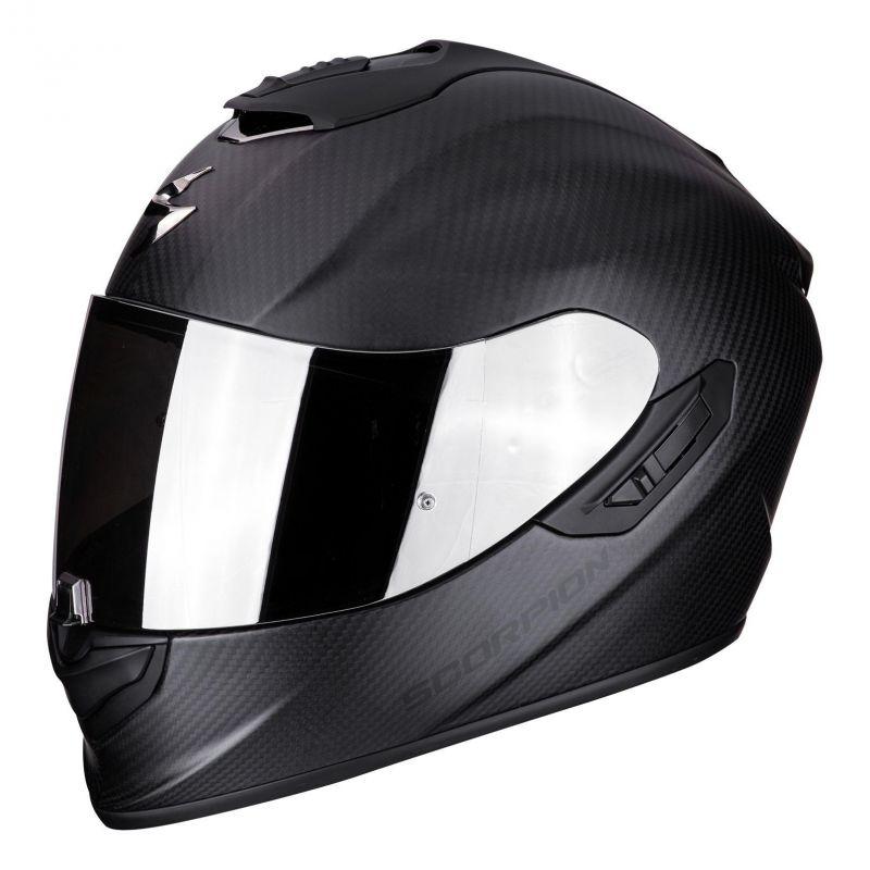 casque int gral scorpion exo 1400 air carbon solid mat noir casques moto sur la b canerie. Black Bedroom Furniture Sets. Home Design Ideas