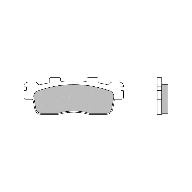 plaquettes de frein brembo type 07085cc carbone c ramique pi ces freinage sur la b canerie. Black Bedroom Furniture Sets. Home Design Ideas