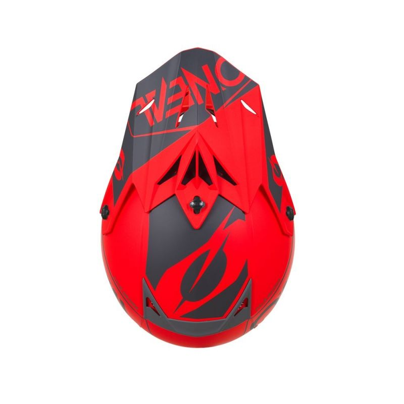 Casque cross O'Neal 5SRS Hexx rouge - 2