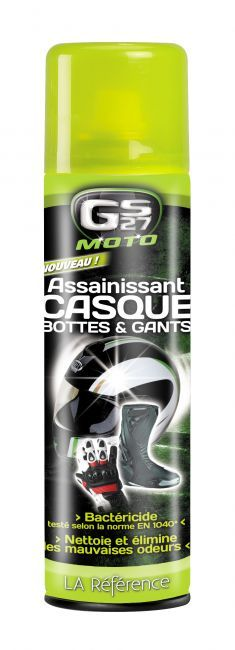 Assainissant Casque, Bottes & Gants GS27 250 ml