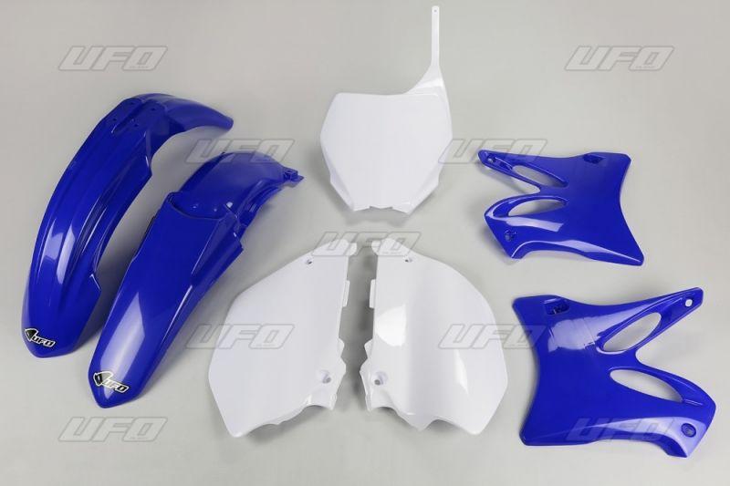 kit plastique ufo yamaha 125 yz 06 14 bleu blanc couleur origine pi ces car nage sur la. Black Bedroom Furniture Sets. Home Design Ideas