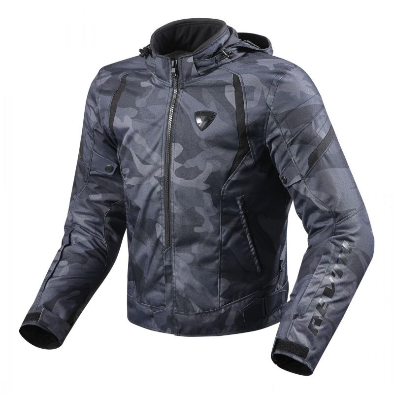 Blouson textile Rev'it Flare camo noir