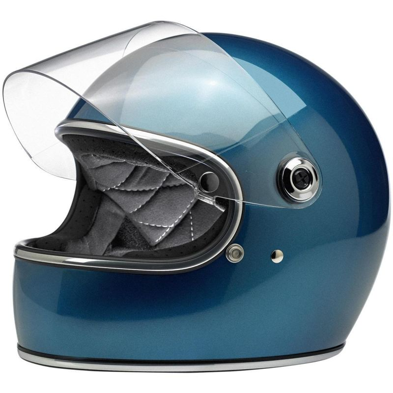 Casque intégral Biltwell Gringo S Pacific bleu - 1