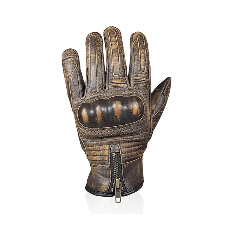 gants moto t homme darts max marron quipement route sur la b canerie. Black Bedroom Furniture Sets. Home Design Ideas