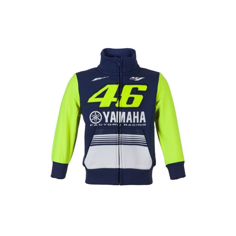 veste zip enfant vr46 valentino rossi yamaha racing multicolore 2017 sportswear sur la b canerie. Black Bedroom Furniture Sets. Home Design Ideas