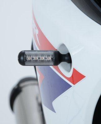 Clignotants LED R&G Racing Aero noir (paire) - 1