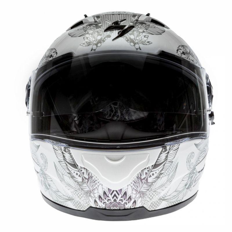 Casque intégral Scorpion EXO-490 DREAM blanc/caméléon - 3