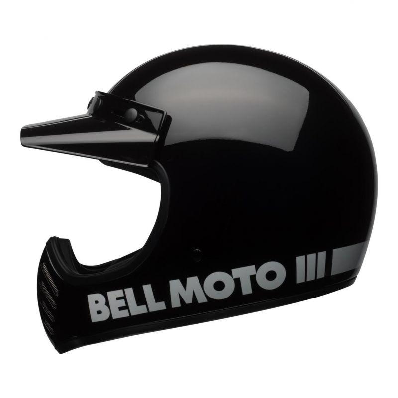 Casque Bell Moto 3 Classic noir - 2