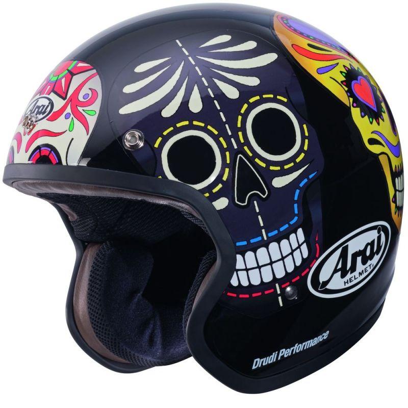 casque jet arai freeway classic skull casques moto sur la b canerie. Black Bedroom Furniture Sets. Home Design Ideas