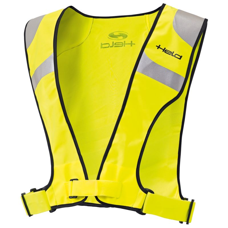 gilet r fl chissant held jaune fluo quipement route sur la b canerie. Black Bedroom Furniture Sets. Home Design Ideas