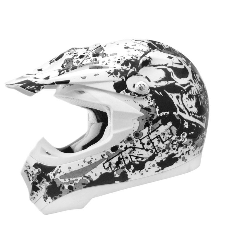 Casque cross TNT helmets dead head