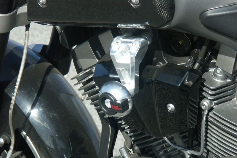 4c38c3d2d3463 Kit fixation tampon de protection LSL Yamaha MT-01 1700 05-12