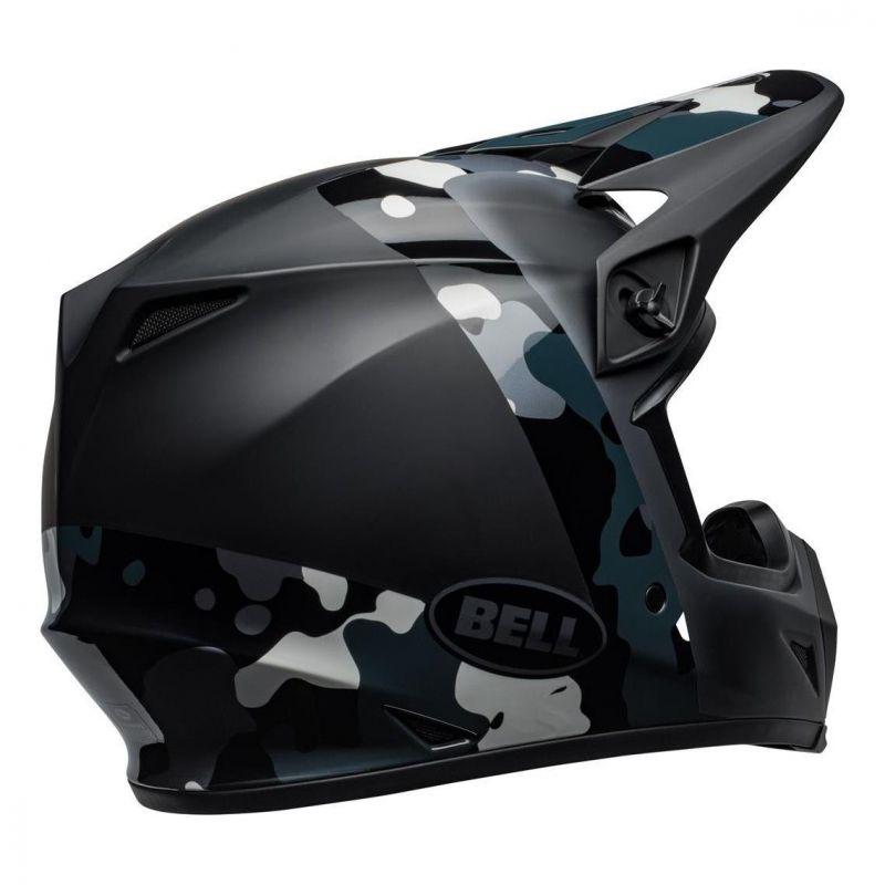 Casque cross Bell MX 9 Mips Presence Camo titanium/noir - 8