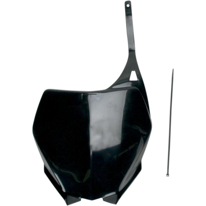 Plaque numéro frontale UFO Yamaha 250 YZ 06-14 noir