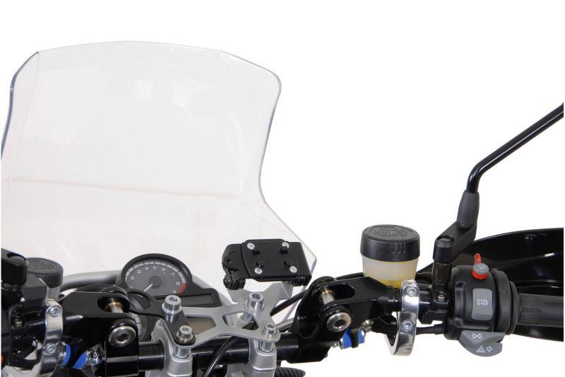 Clip adaptateur SW-MOTECH pour GPS noir - 1