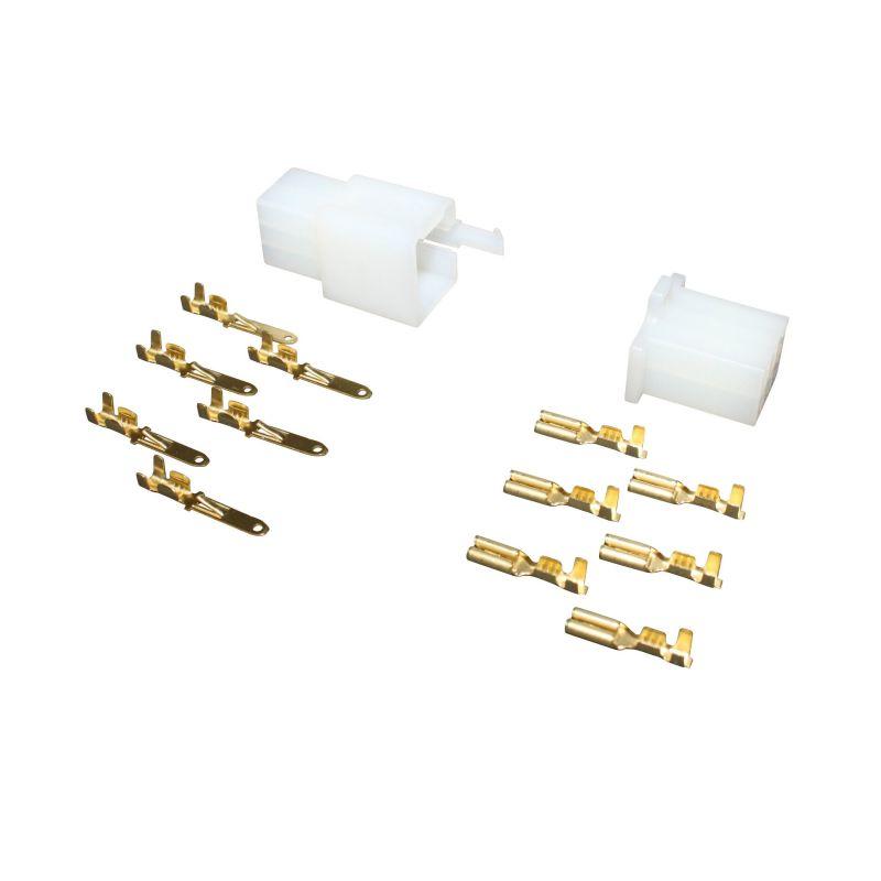 Connecteur Plastique Mâle Et Femelle 6 Fiches