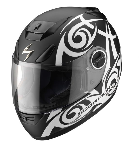 casque int gral scorpion exo 750 air tribal noir mat. Black Bedroom Furniture Sets. Home Design Ideas