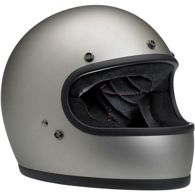 Casque intégral Biltwell Gringo titanium mat - 2