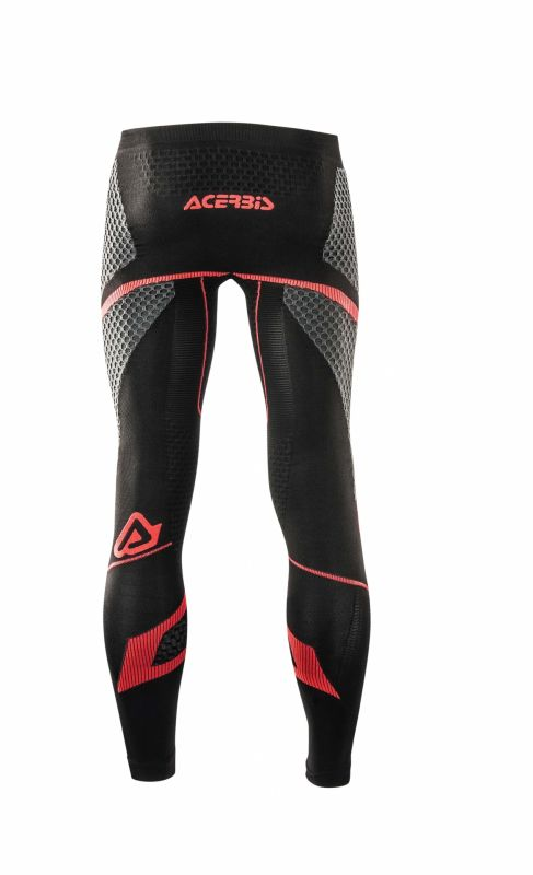Pantalon de protection Acerbis X-Body Winter Ls noir/rouge - 2