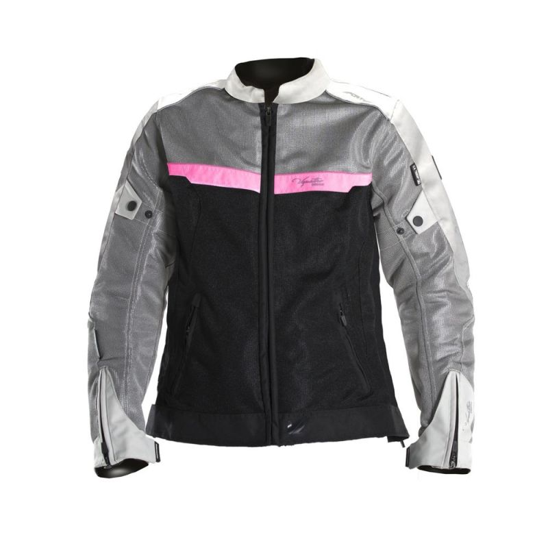 Équipement Grisnoirrose Textile 51 V'quattro Femme Blouson Ve ORqRA