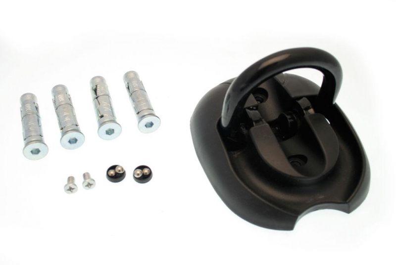 anneau d 39 ancrage mur et sol acier 14mm accessoires stand sur la b canerie. Black Bedroom Furniture Sets. Home Design Ideas