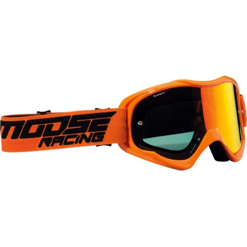 Masque cross Moose Racing QUALIFIER SHADE orange
