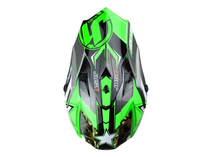 Casque cross Just1 J32 Moto X Vert - 3