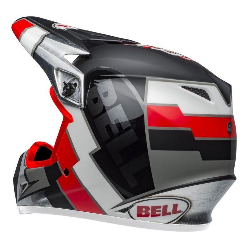 Casque cross Bell MX-9 Mips Twitch Replica mat noir/rouge/blanc - 2