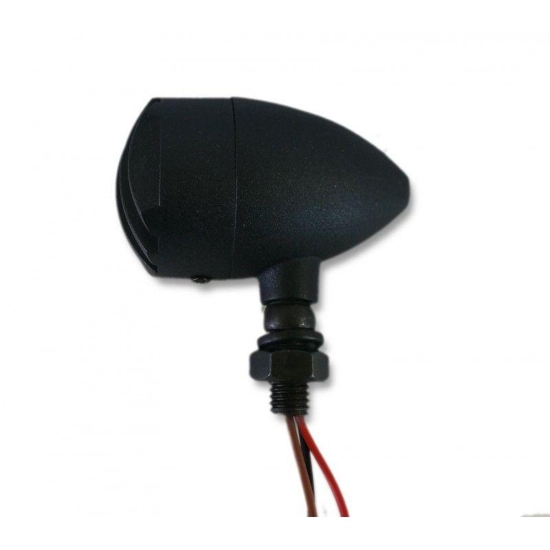 Clignotants Brazoline Intruder noirs (paire) - 3