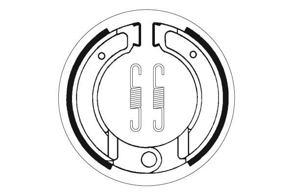 Mâchoires de frein SBS 2120