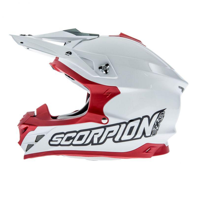 Casque cross Scorpion VX 15 EVO AIR Blanc/Rouge - 2