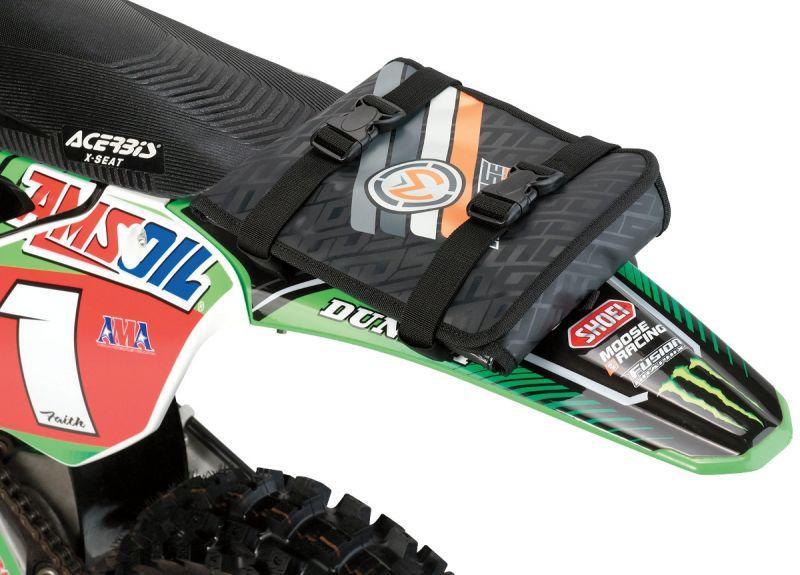 Sacoche outillage Moose Racing gris/noir/orange