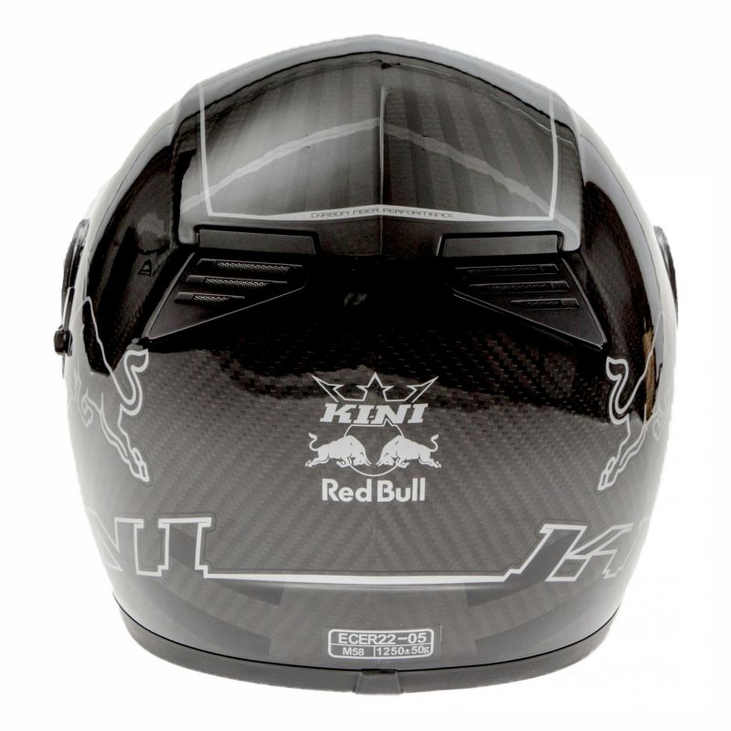 Casque intégral Kini Red Bull Road carbone - 4