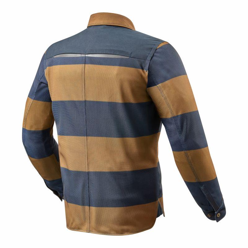 Sur-chemise Rev'it Tracer Air marron/bleu - 1