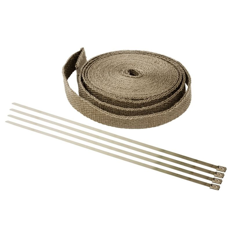 Bande thermique 2,5 cm x 15 m marron